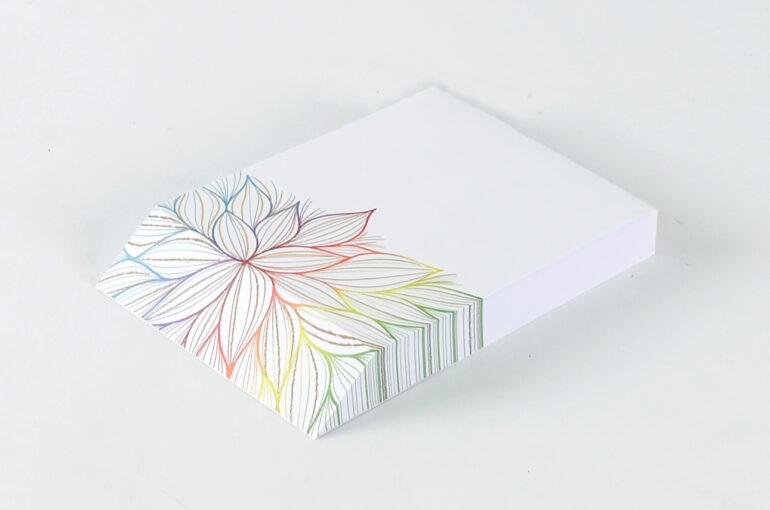 Memo Pad (Garden, Rainbow, Vase, Floral)